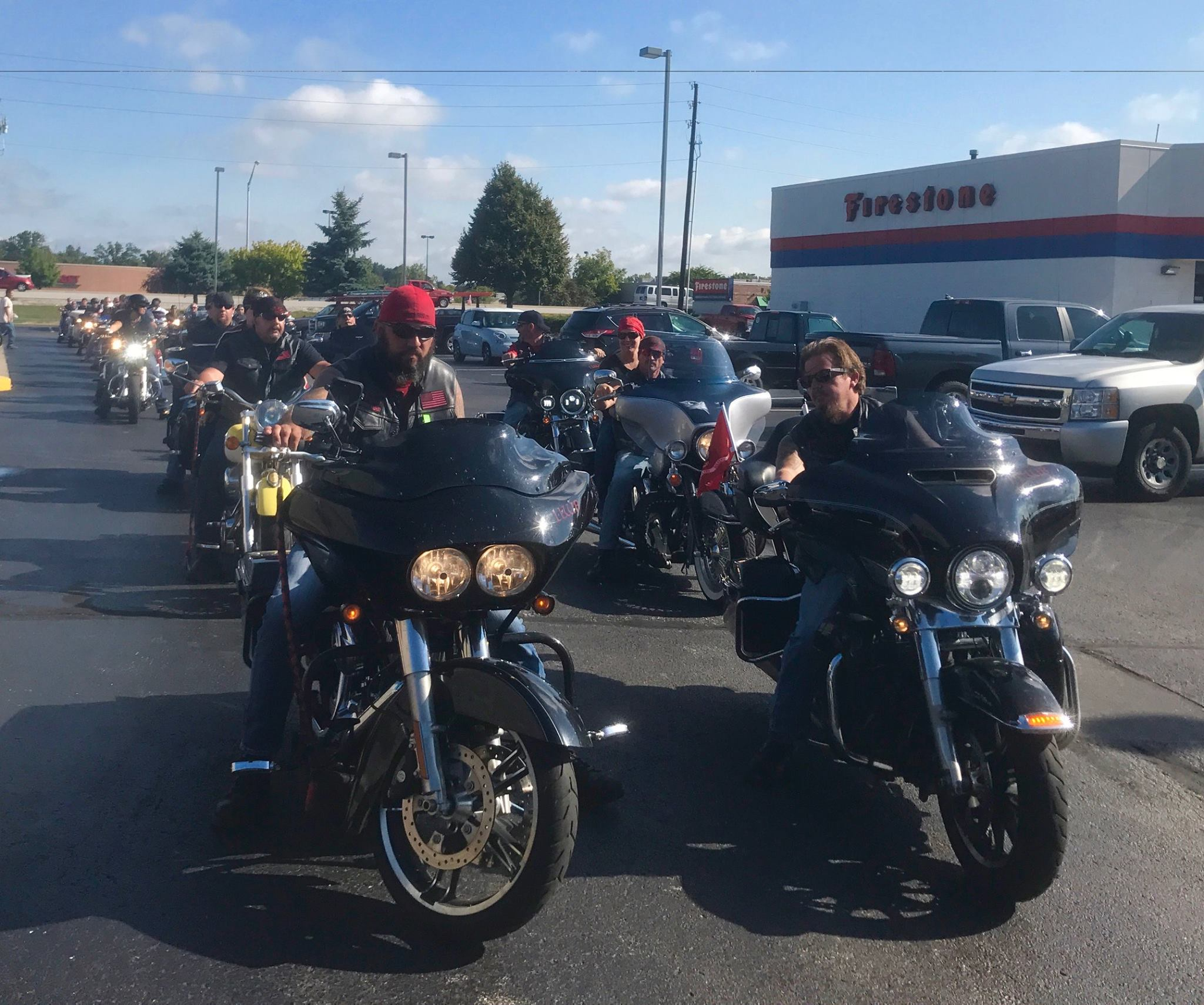 Indy Blue Star Mother's annual motorcycle rally to raise awareness for PTSD