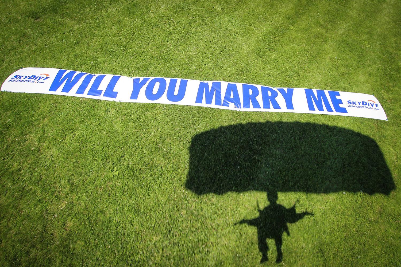 skydive proposal banner