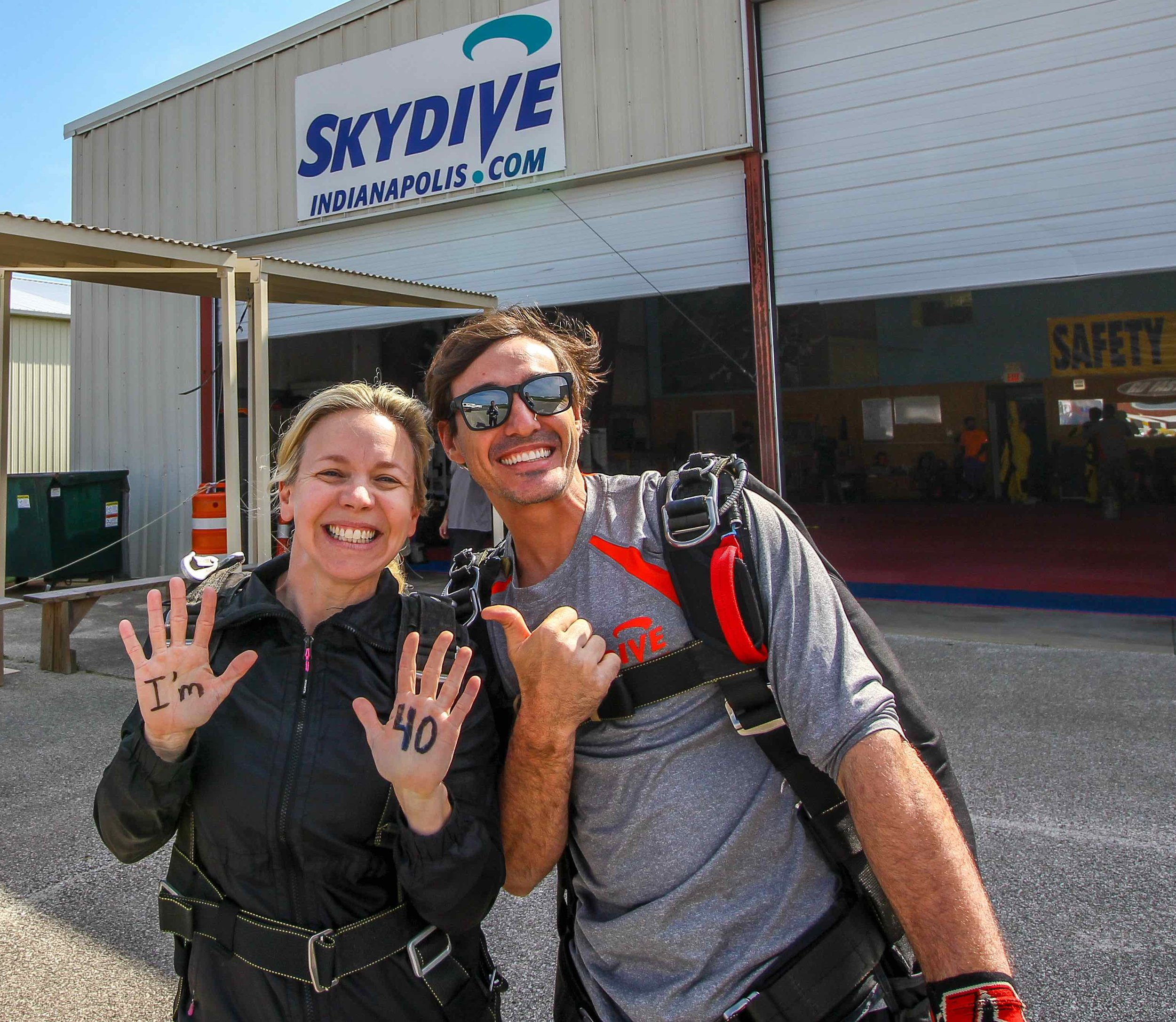 Celebrate with a skydive