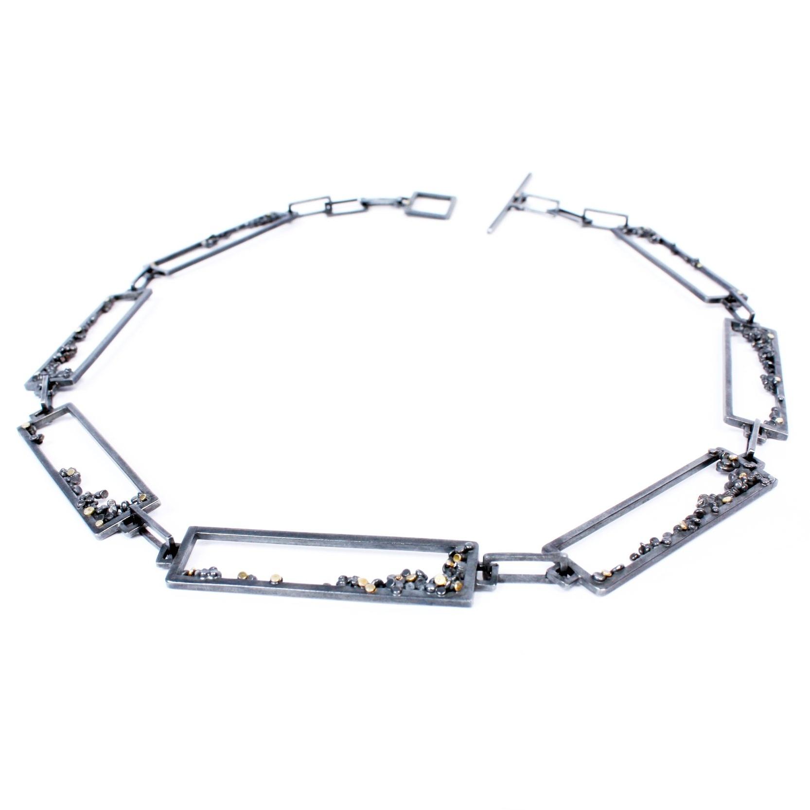 Speckle Frame Necklace