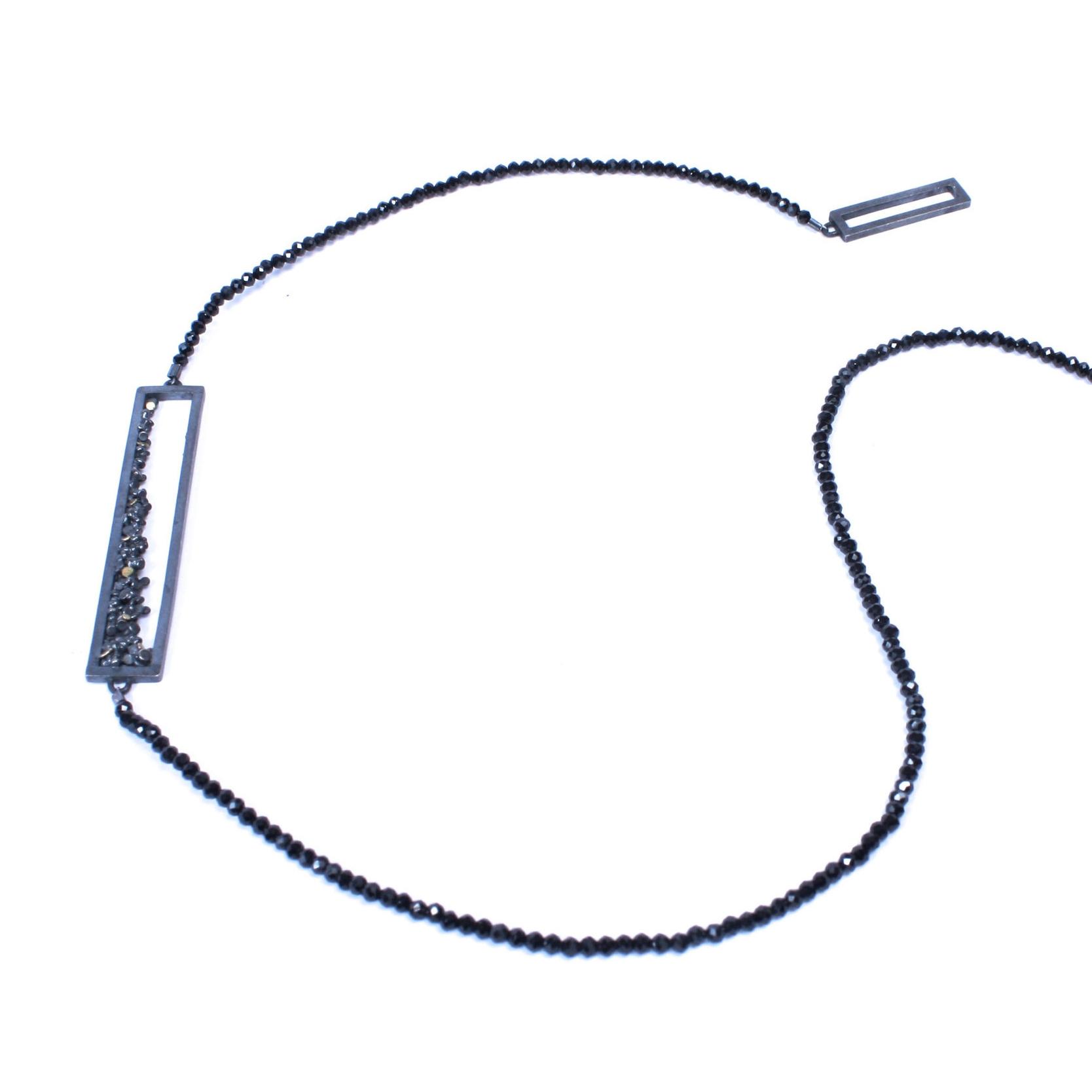 Speckle Spinel Necklace