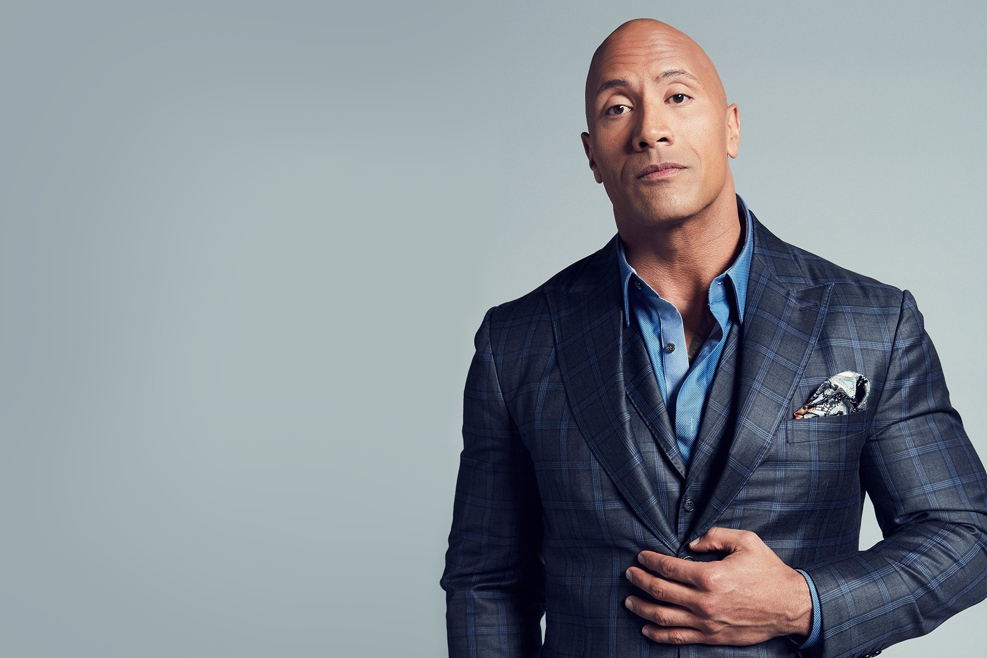 DWAYNE JOHNSON - Actor / World Heavyweight Champion