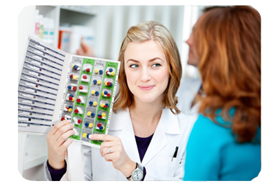 Providing  adherence packaging  is a great tool to assist patients with complex regimens stay on top of their daily doses.