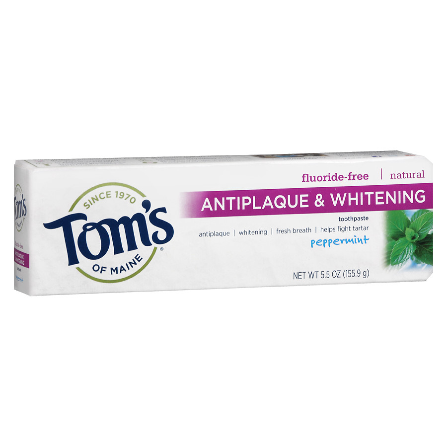TOM'S TOOTHPASTE