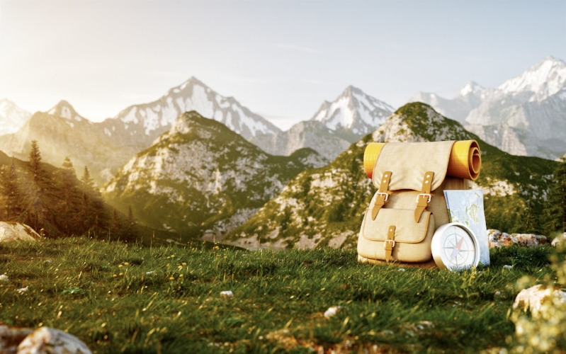 touristic-backpack-with-map-and-compass-PSHN957.jpg