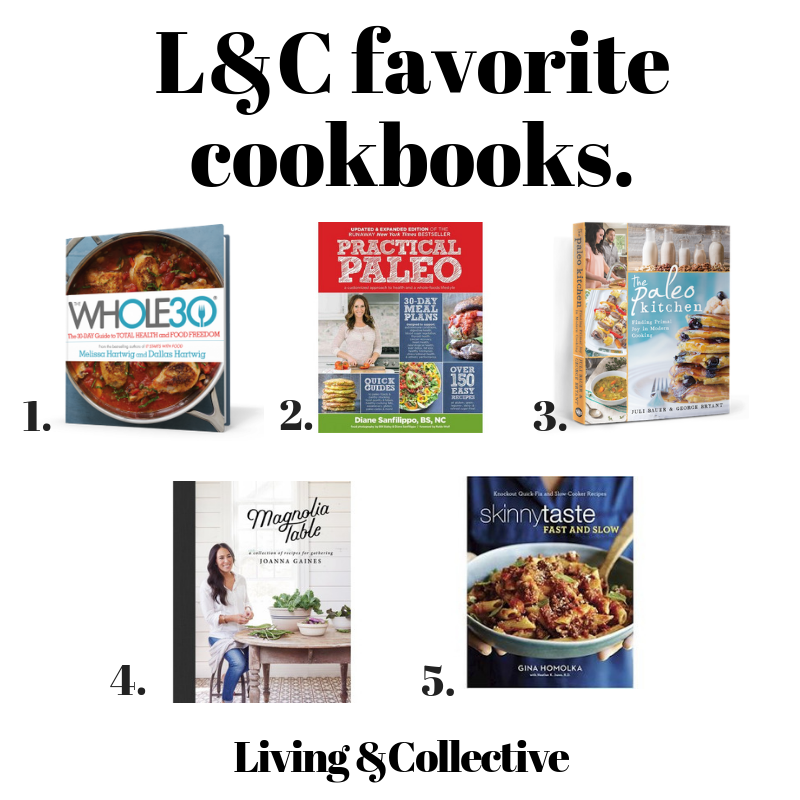 Favorite Healthy cookbooks