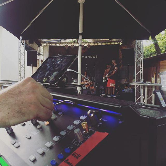 #soundcheck @ #beachbar #lambsheim ✌🏽 See ya tonight