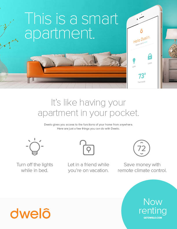 Dwelo smart apartments leasing guide