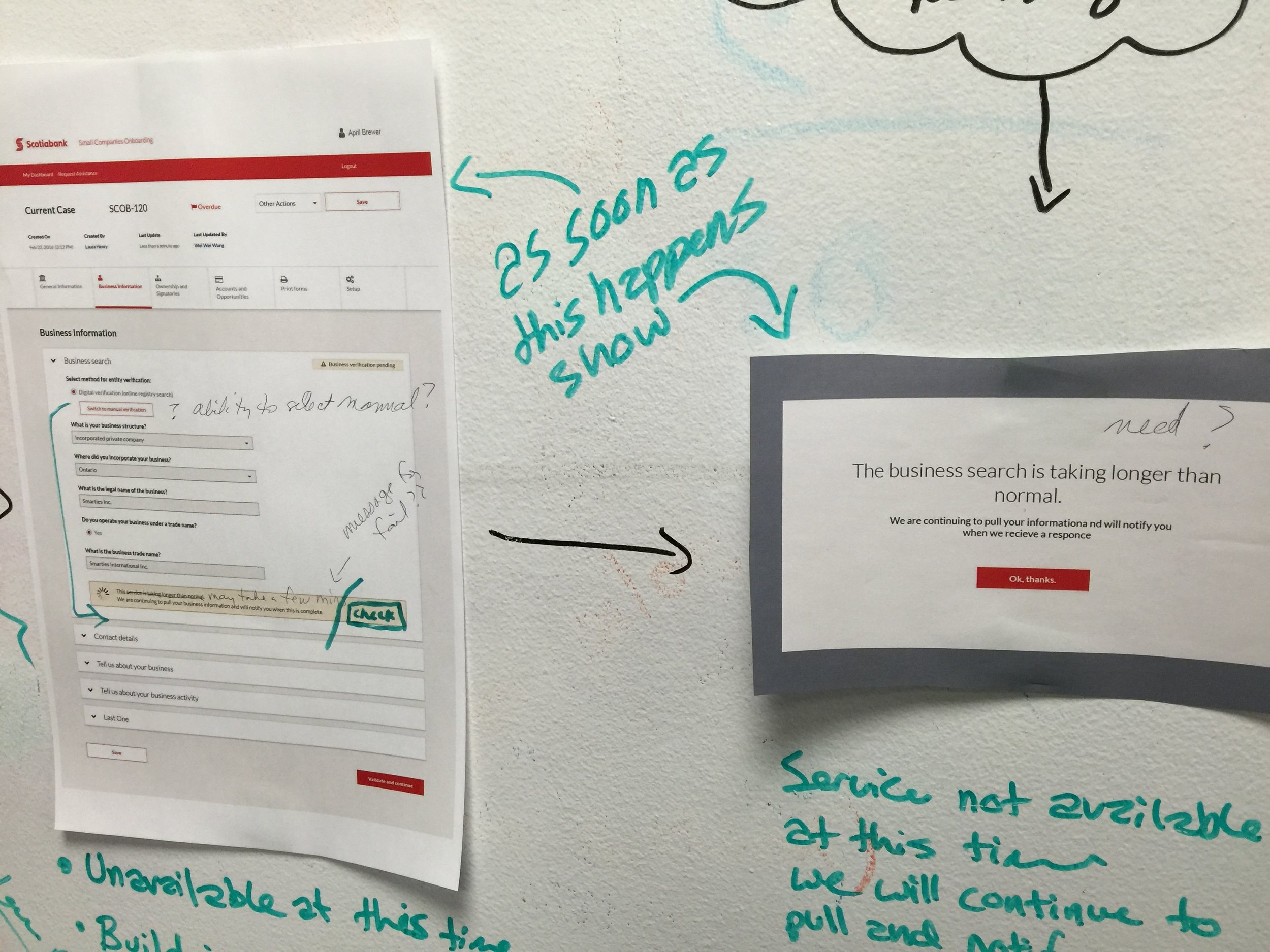 Collaboration - To ensure everyone has access to input, one of the techniques I use is to display the work on a whiteboard and open it up for all stakeholders to understand, influence and contribute.