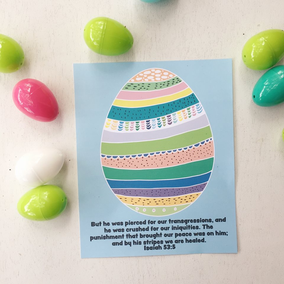 EASTER Printables - Easter prints, scripture cards, and coloring pages