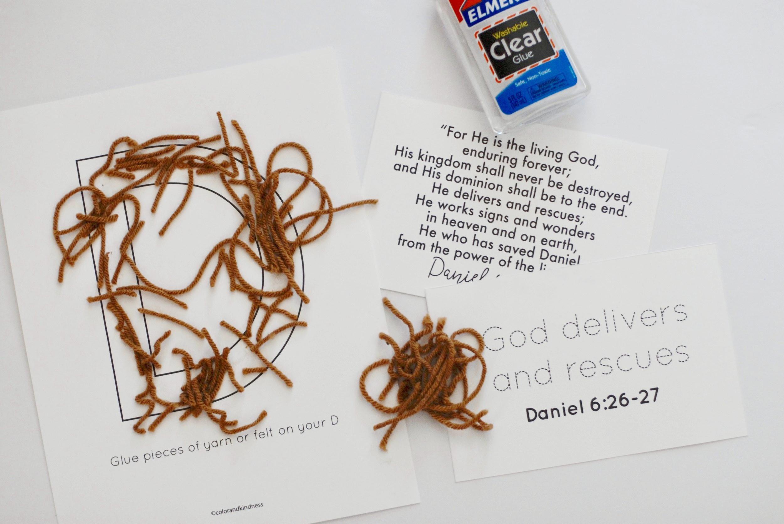Lettter D: God is our Deliverer