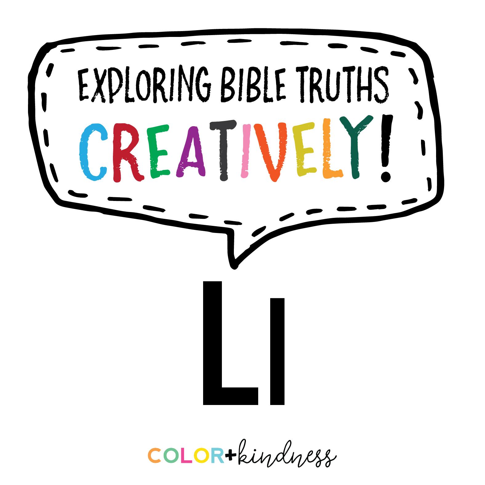 Letter L Color + Kindness