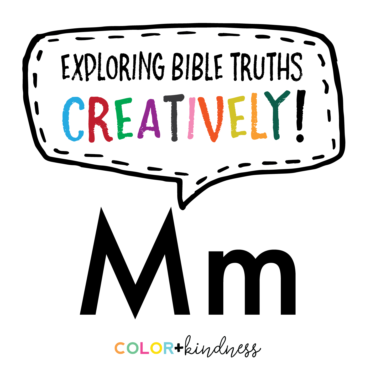- From A To Z: Letter M — Color + Kindness