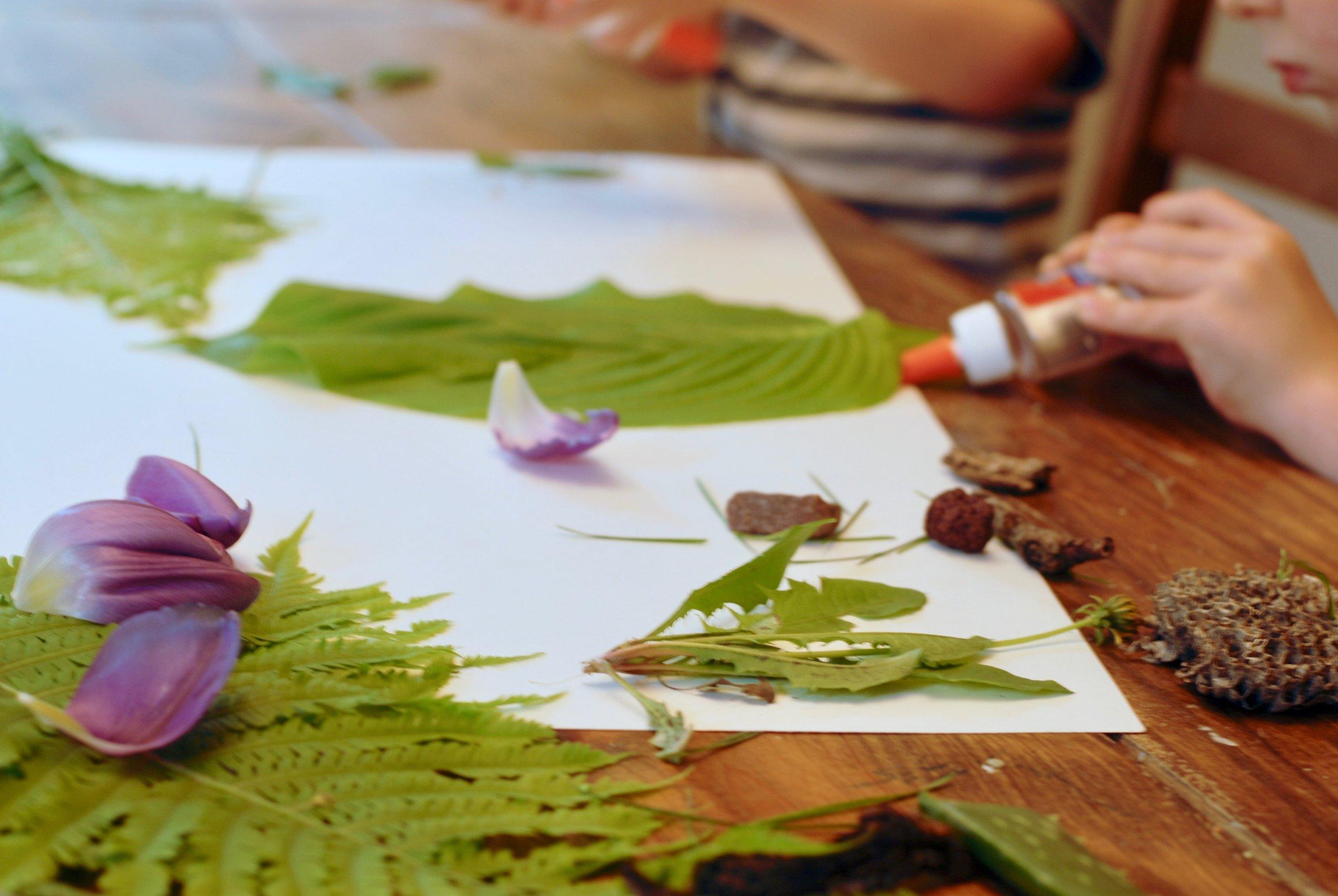 nature sensory play