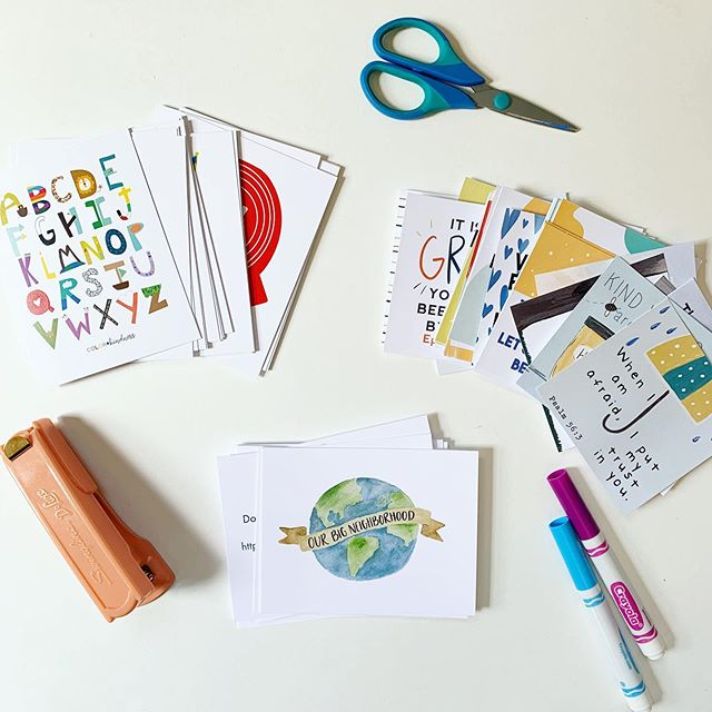 *GIVEAWAY* We are in full prep mode over here (and still enjoying lots of summer too!), so I thought it would fun to giveaway three favorites that would be perfect for morning time (or learning time) with your kids 🙌🏼🙌🏼🙌🏼 What's up for grabs: A shipped set of A-Z Bible Truth and Our Big Neighborhood cards as well as the printable download for all 32 scripture card for kids. Ps. Feel free to enter if you are international, but you'll receive all digital versions 👍🏻 How to enter: ✏️ Like this photo ✏️ Use emojis to describe how you feel about mornings ✏️ Tag a friend (or a few) for additional entries  As always, Instagram isn't sponsoring this giveaway and you must be over 18 to enter 👍🏻 #colorandkindness #homschoolprep #morningtime #morningbasket #familydevos #scriptureforkids #feedcreatively #homeschool #backtoschool #bibleforkids