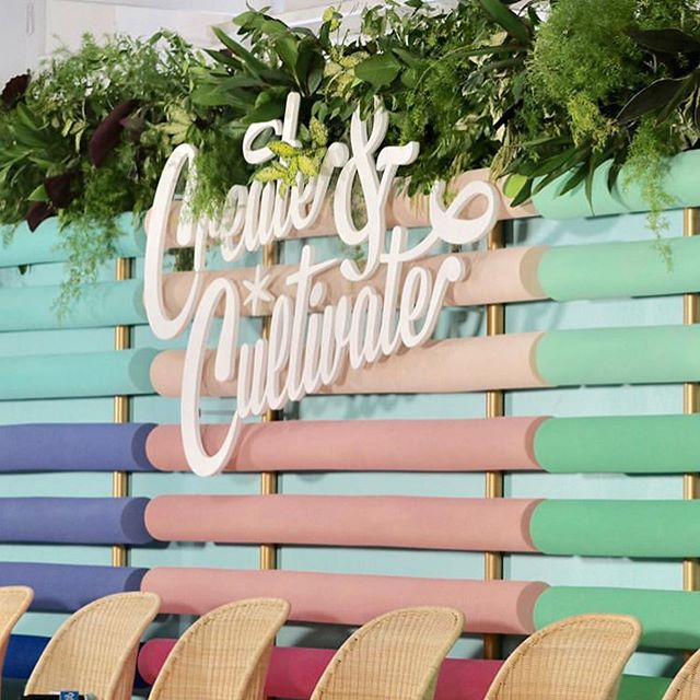 Managing Director @eljeffreycraig spent the weekend at @createcultivate with #bosslady @anne_maza and the iconic @oliviagardenint !