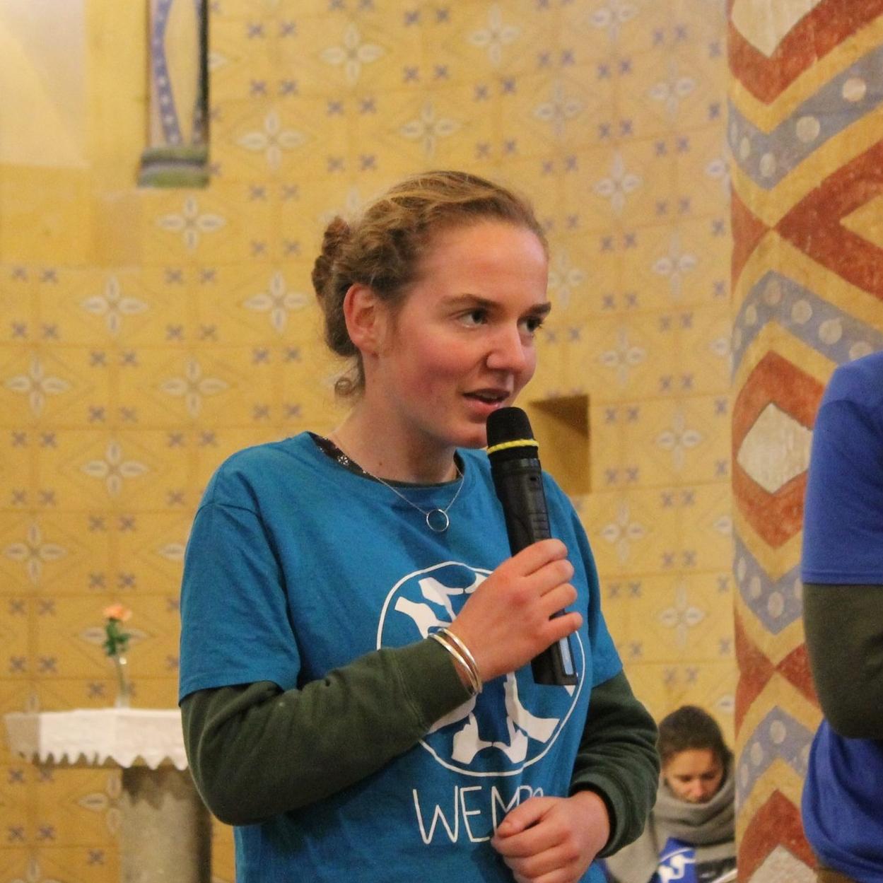 Charlotte Moulonguet,  étudiante en école d'ingénieur