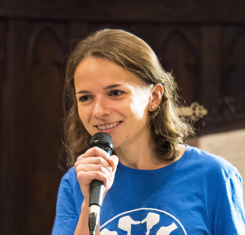 Isabelle Pélissié du Rausas,  fondatrice des WEMPS et de la  Mission Isidore , étudiante en école de commerce