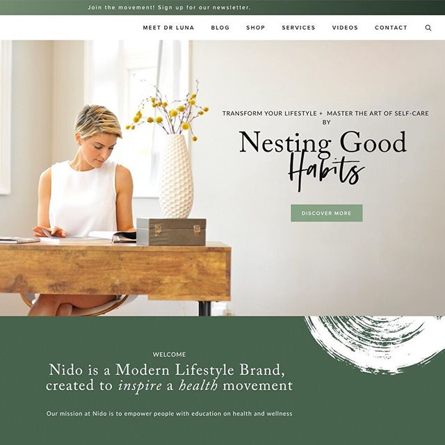 ~ New Custom Squarespace Website ~ Thank you so much to Dr Luna for choosing our Custom Squarespace Website service. She founded @nidolifestyle a modern day lifestyle brand whose mission is to educate, give clarity, guidance, and easy-to-follow information to those with the desire to make genuine changes and begin the path to a new life both physically, mentally and spiritually. 🌿 ⠀⠀⠀⠀⠀⠀⠀⠀⠀ We're very happy of the final result ♥️ Discover more about Dr Luna and her services at www.nidolifestyle.com - Start to develop with us your new website today! Link in bio ⫸ • • • • • • #squarespace #smallbiz #customdesign #etsy #etsyshop #etsyseller #theinstalab #womeninbusiness #thatsdarling #mycreativebiz #liveauthentic #socialboss #visualcollective #flashesofdelights #smallbusiness #bloglife #livethelittlethings #darlingmovement #creativehappylife #thesocialsociety #creativepreneur #creativityfound #calledtobecreative #pursuepretty #abmhappylife #savvybusinessowner #femaleentrepreneur #instagramtips #instagramtipsforbusiness #abmlifeiscolourful