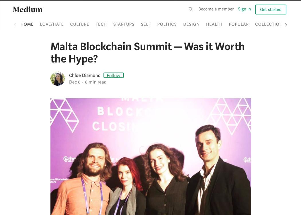 Malta Blockchain Summit — Was it Worth the Hype?