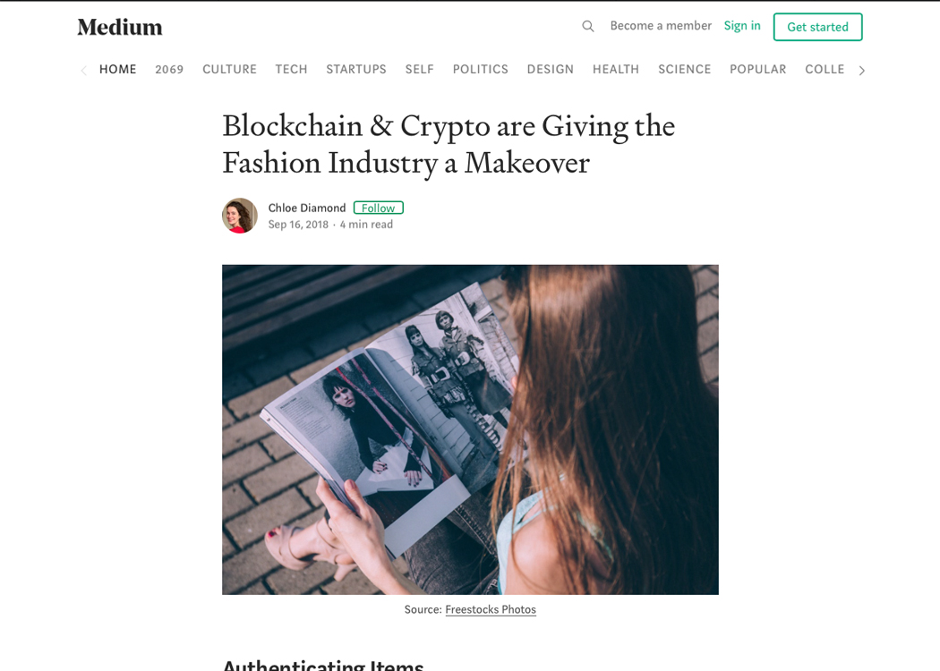 Blockchain & Crypto are Giving the Fashion Industry a Makeover
