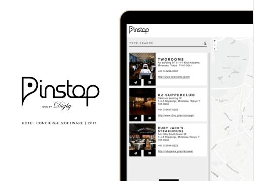 PINSTOP - Hotel Concierge Software