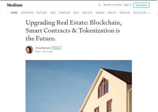 Upgrading Real Estate: Bloackchain, Smart Contracts & Tokenization is the Future