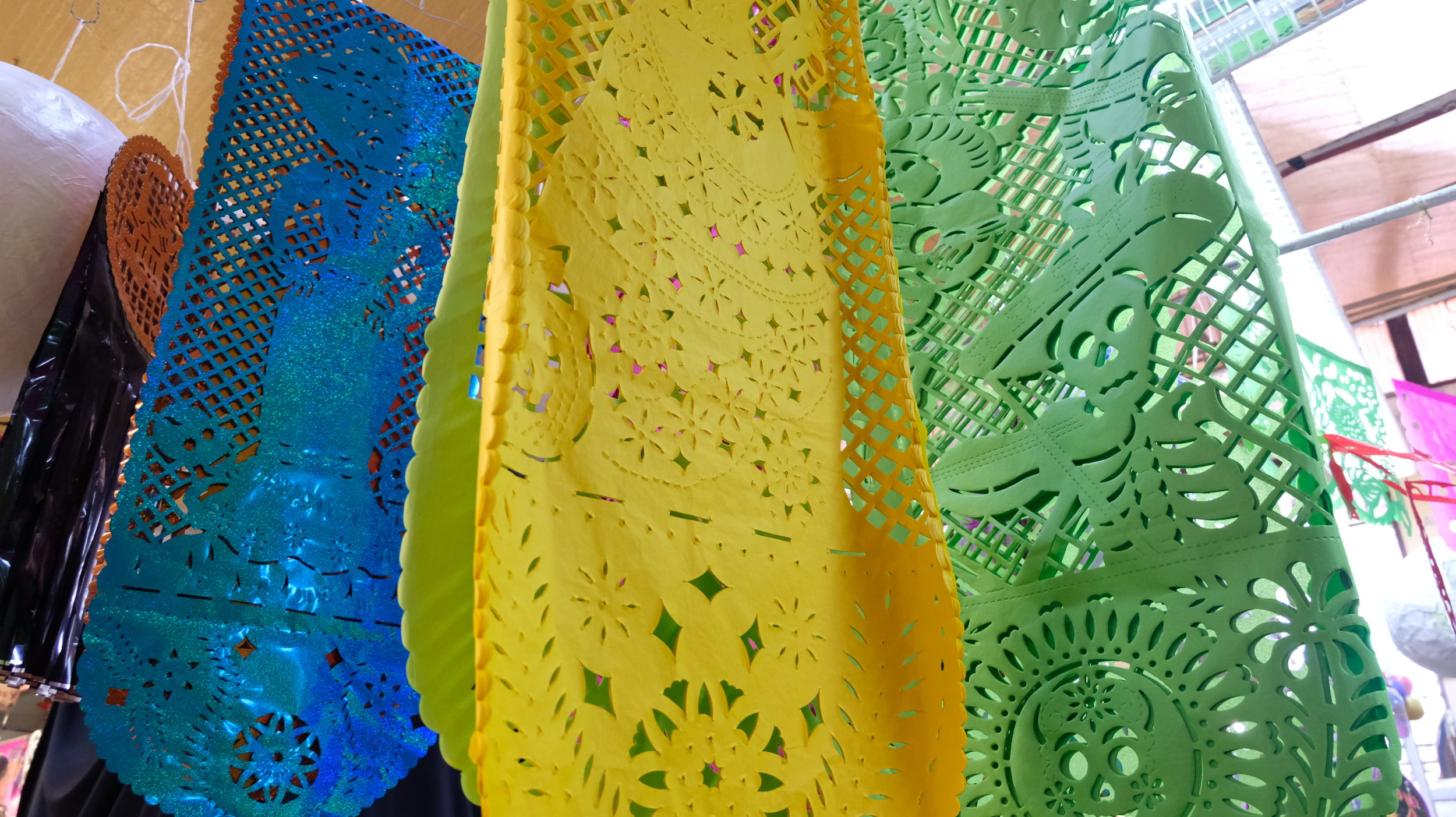 Papel picado (decorative paper)