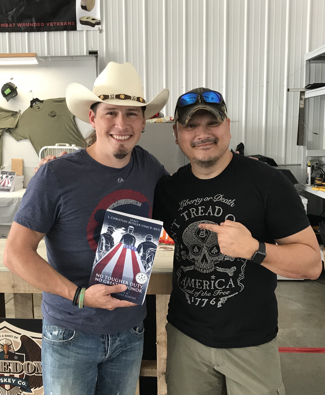 US Marine veteran and Country Music Star Jason Michael Carroll