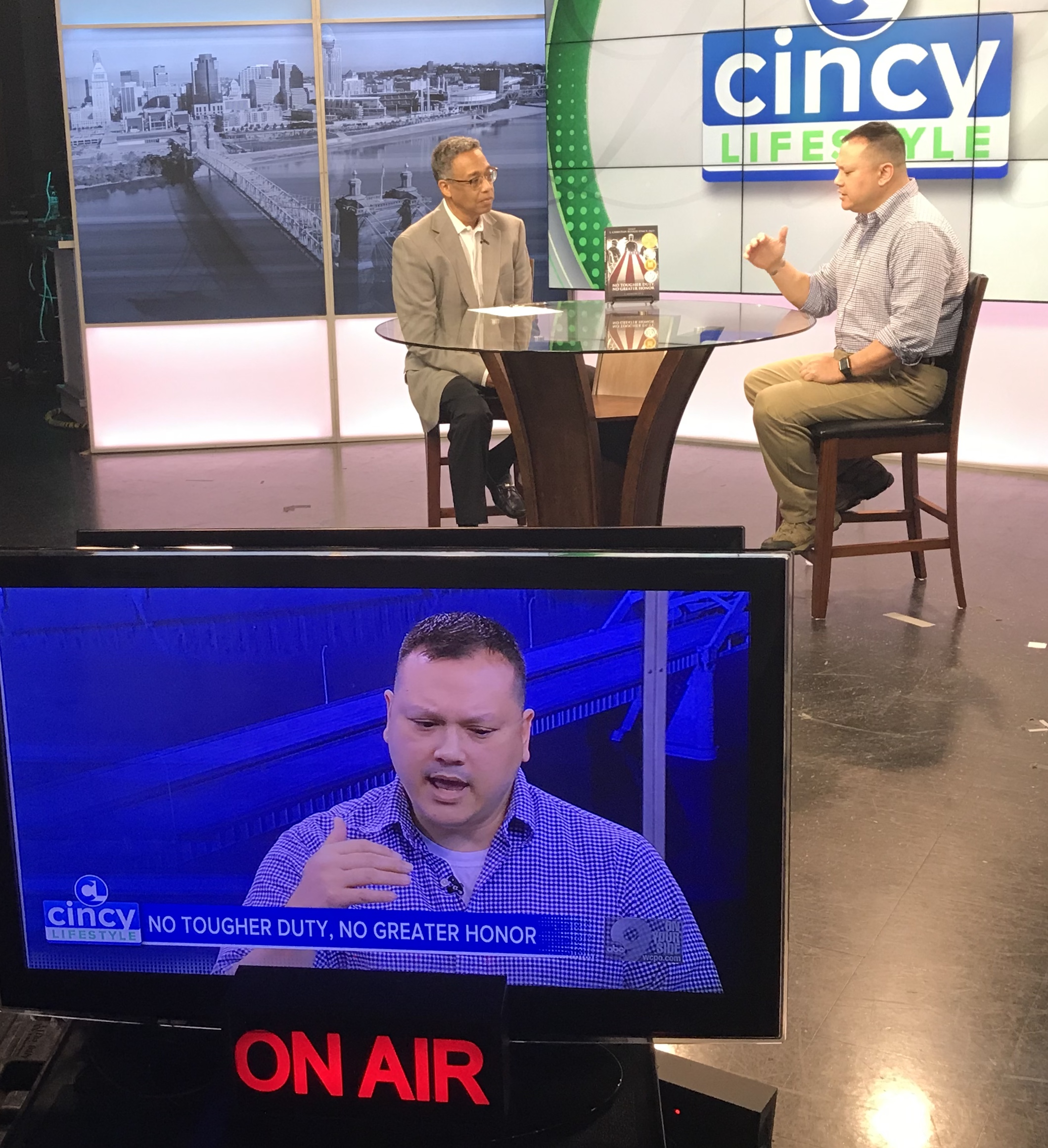 Interview with news anchor Clyde Gray on Cincy Lifestyle WCPO Channel 9