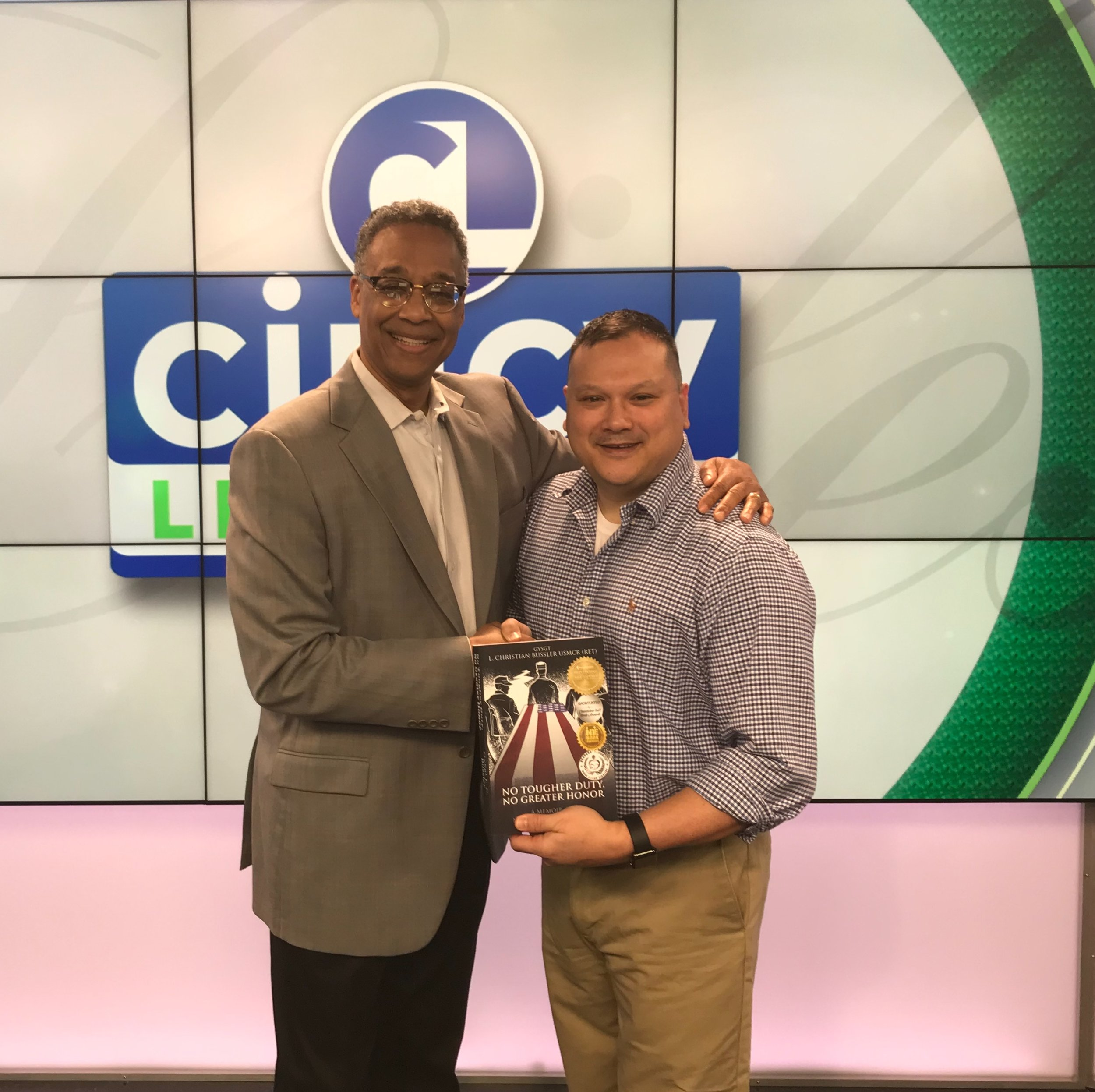 Clyde Gray from Cincinatti WCPO 9 News, SUPER-GREAT GUY!!