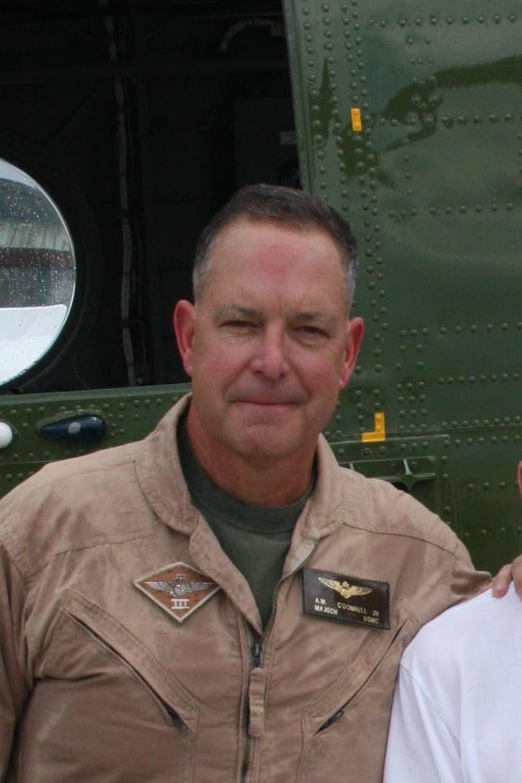 MajGen Andrew O'Donnell jr USMC (ret)
