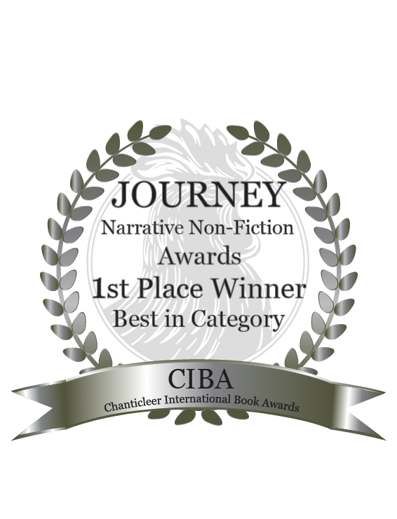 1st Place Winner, best in catagory 2018 Journey Award Chanticleer Intl Book Awards!! -