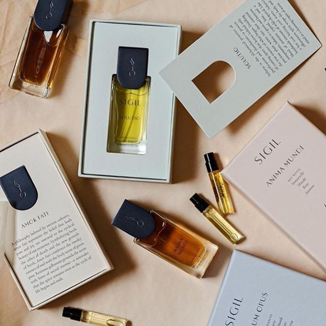 Now stocking @sigilscent :: Patrick is so hands on with his craft and his brand it's refreshing to see a Maker so deeply connected to every moment in their process. From concept to product to presentation. In store now!