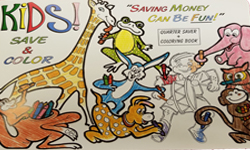 Savings Coloring Book Challenge
