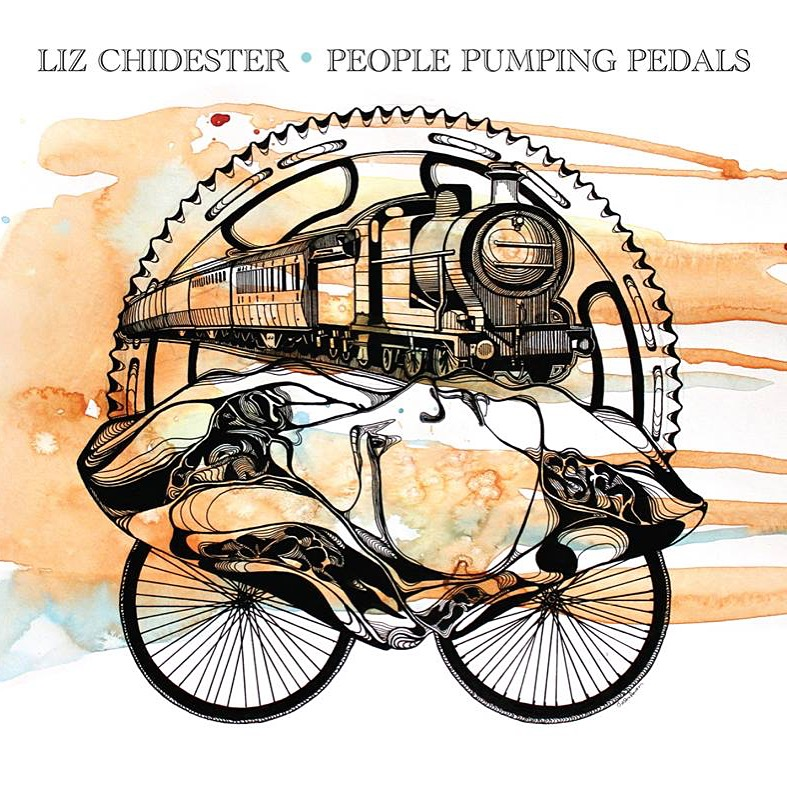 """""""People Pumping Pedals"""" + Liz Chidester"""
