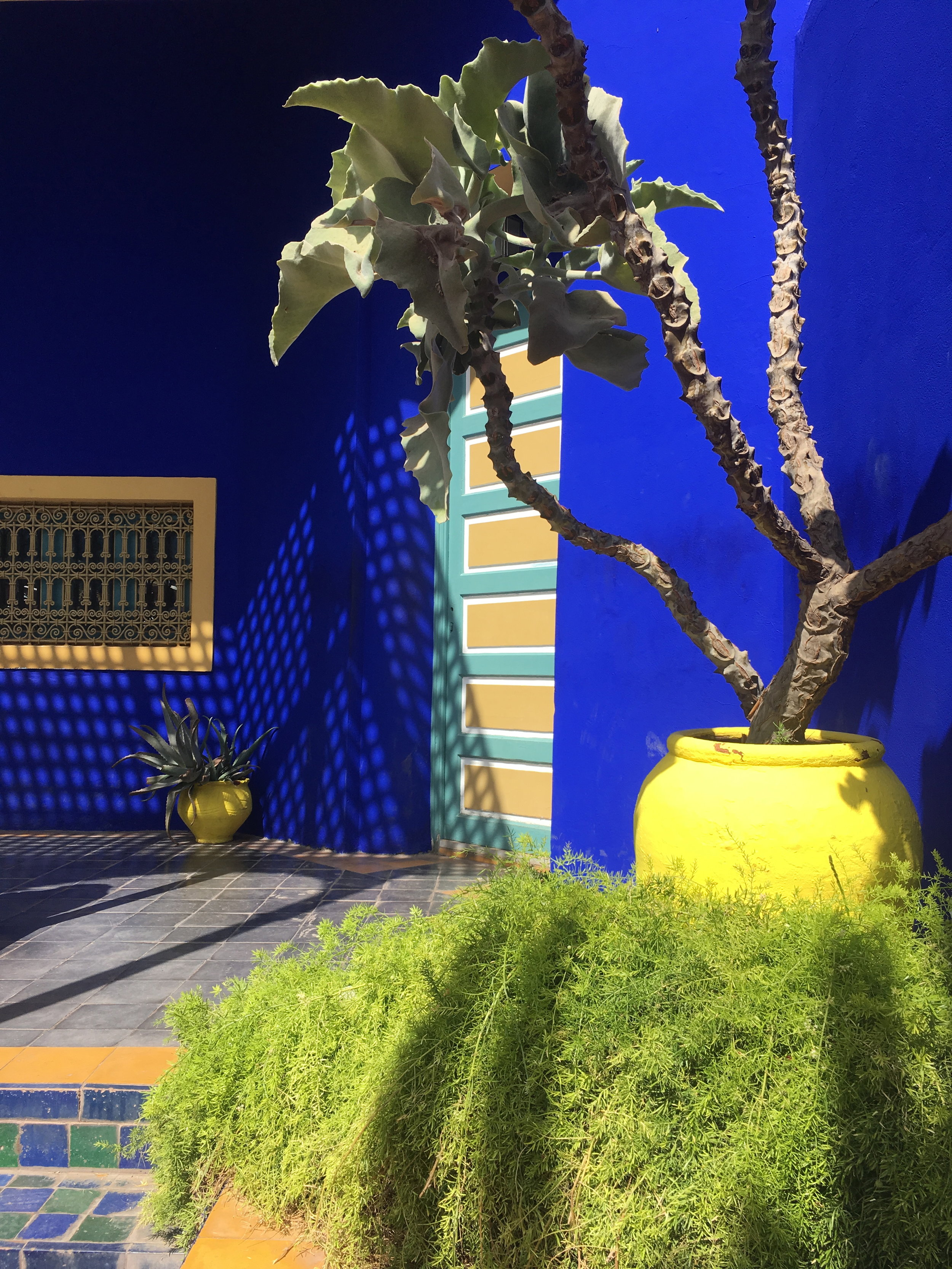 Yves Saint Laurent's home in Marrakech