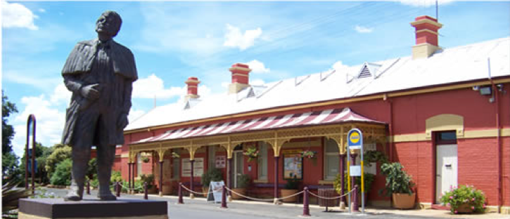 Forbes Railway Arts and Tourist Centre, Coonabarabran