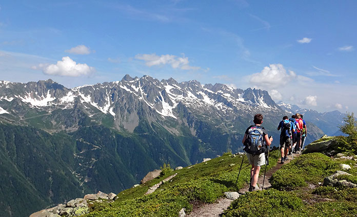 Italian, Swiss & French Alps Walking & Hiking Tour - Experience some of the best hiking in Europe as you hike through the Alps and between three cultures in Italy, France and Switzerland.