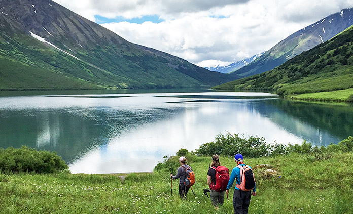 Alaska Walking & Hiking Tour - Hike on a massive glacier. Boat across a bay rich with marine life. Watch for bears, caribou and moose. Be part of this amazing Alaskan adventure.