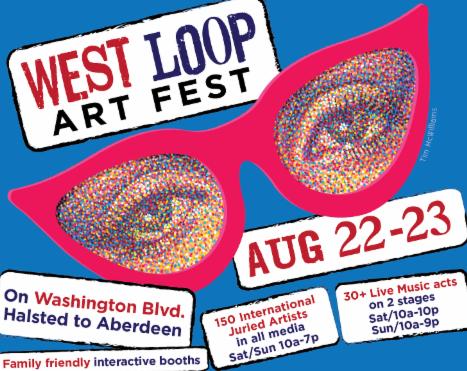 West Loop Art Fest, Featuring Sculpture by Russ
