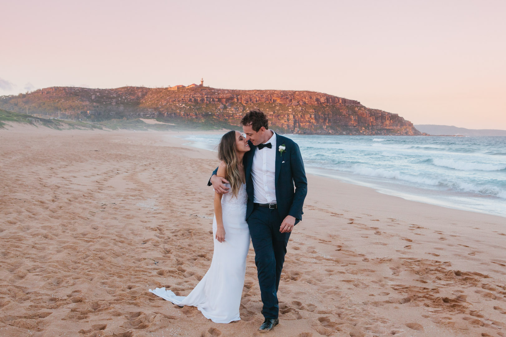 ADAM & SARAH - PALM BEACH, NSW