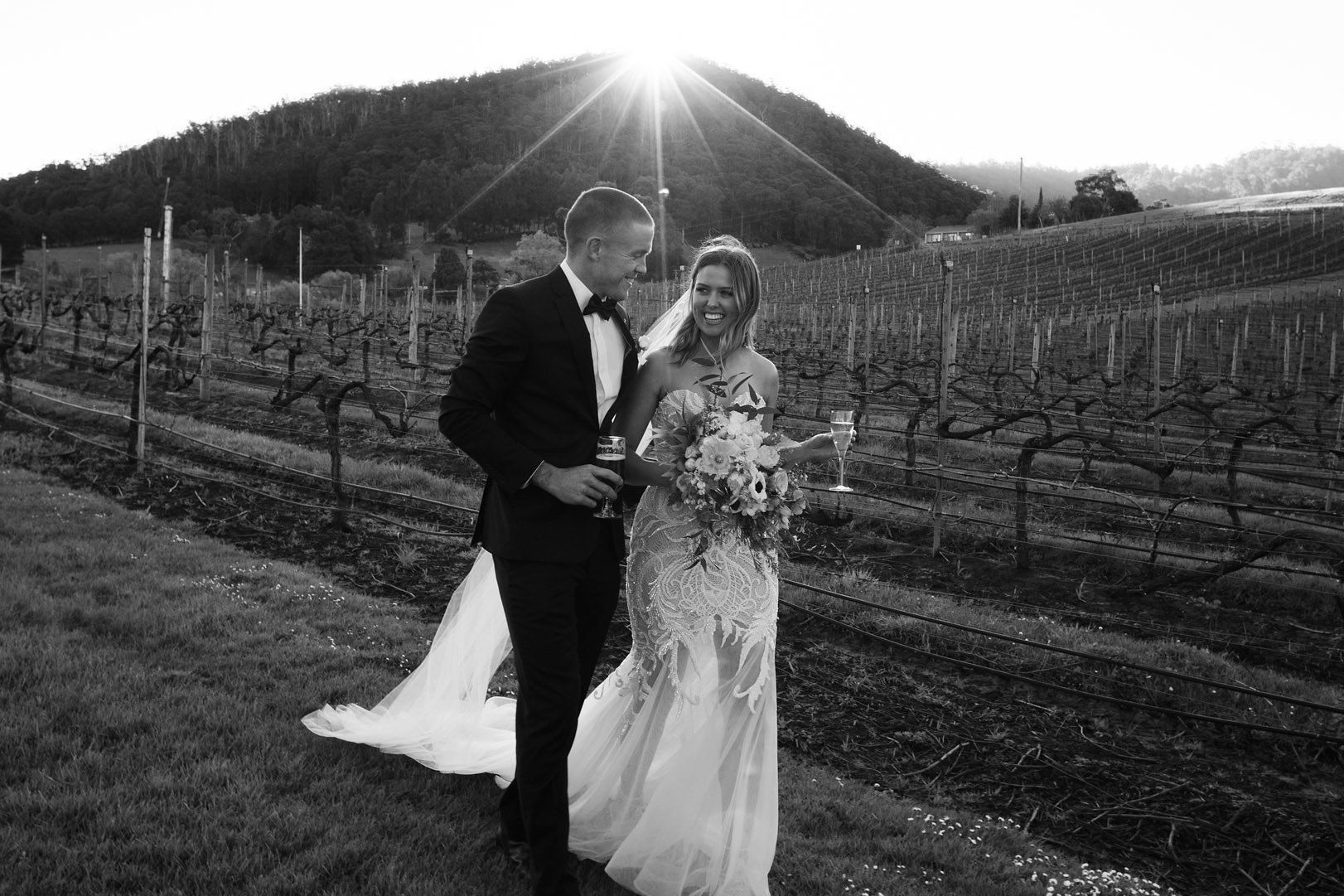 CLAYE & SHELBY - HOMEHILL WINERY, TASMANIA
