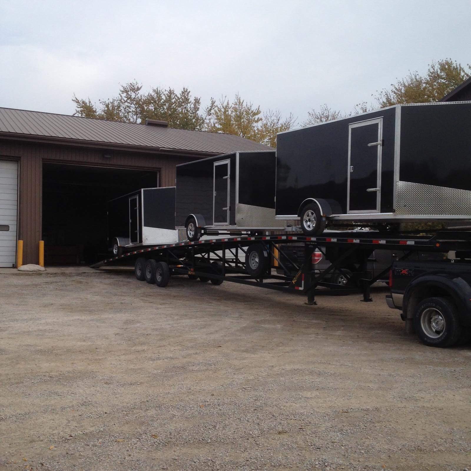 Single Axle Cargo Trailers
