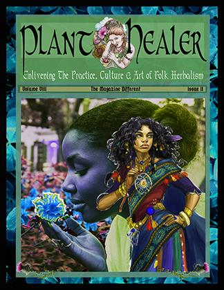 """"""" Herbal Medicine and the Meeting of the Worlds """",  Plant Healer Magazine,  Fall 2015, Volume V, Issue IV  """" Bioregional Herbalism~An Introduction to Ecological Relationship and Place-Based Practice """",  Plant Healer Magazine , Summer 2012, Volume II, Issue III"""
