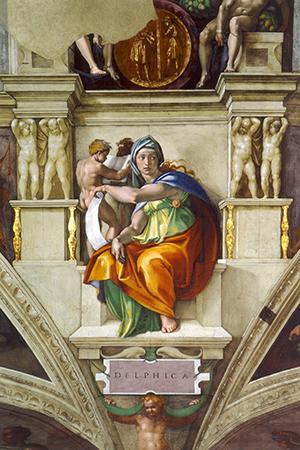 Delphic Sibyl : Sistine Chapel