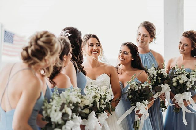 Girl squad! . . . #bridebook #bridesmaids #destinationwedding #drstinationbride #beachwedding #marthastewartweddings #southernbridemagazine #stylemepretty #asilesociety #bustld #bustldwilmington #bridebookbridesmaids #weddingforward #wedphotoinspiration #dreamweddingshot #wilmingtonweddings #wilmingtonnc #oceanislebeach #northcarolina ##northcarolinaphotographer #ncweddingphotographer #tphkweddings #haleykatephotos #thephotographyofhaleykatherine #summerweddings #eastcoast #wrightsvillebeach #kurebeach #carolinabeach