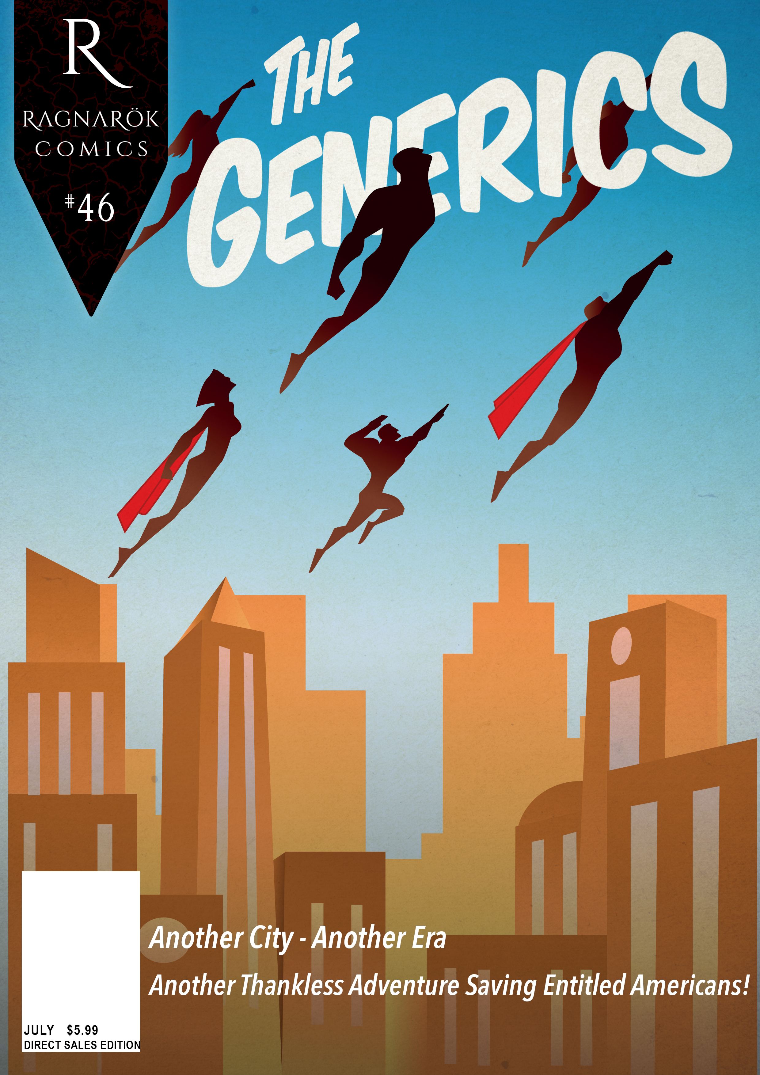 The Generics #46 (second printing)