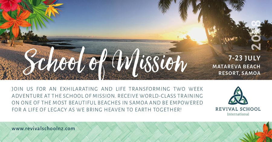 School of Missions helps Revival School students tell others about identity, transformation, intimacy, sonship, vision, dreams, destiny.