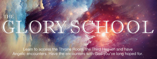 The Glory School teaches people how to be led by the Holy Spirit in heavenly enmcounters.